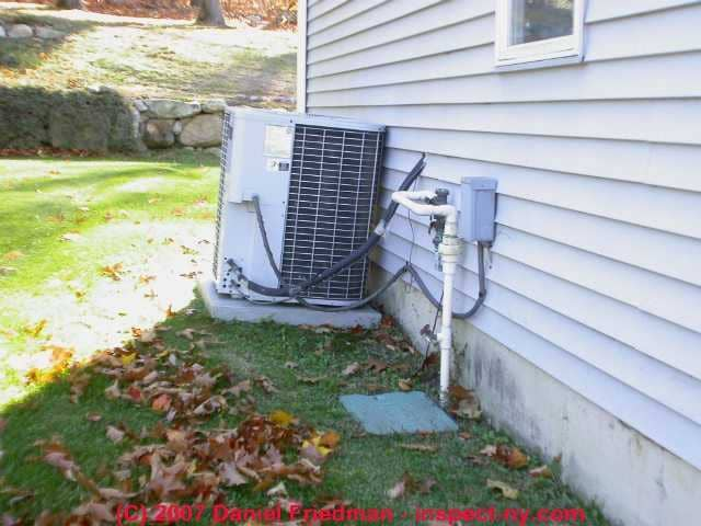 Air Conditioning System Schematic C Carson Dunlop Associates