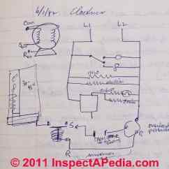 Refrigerator Start Relay Wiring Diagram Triumph Gt6 Electrical Electric Motor Run Capacitor Operation Air Conditioning Basic Circuit C D Friedman At Inspectapedia Com