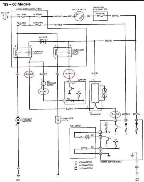small resolution of car air conditioner wiring schematic at inspectapedia com