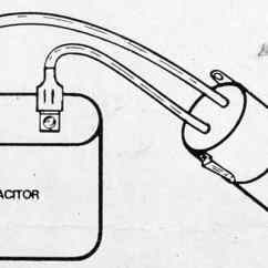 Hard Start Capacitor Wiring Diagram 7 Way Rv Electric Motor Starting Installation C D Friedman Sealed Parts Co
