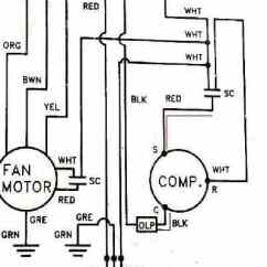 Ac Motor Run Capacitor Wiring Diagram 6 Volt To 12 Conversion Electric Test Procedures Start Or Diagnostic Checks How Use A Vom Multimeter Starting Air Conditioner