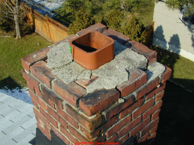 Chimney Crack Diagnosis A Catalog of types and causes of cracks in masonry chimneys