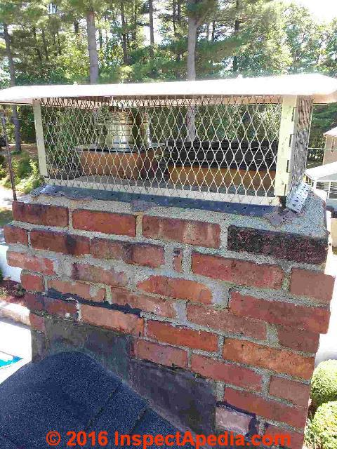 Chimney rain Cap  Chimney CapCrown Choices Installation Inspection Repairs