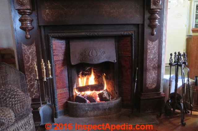 Fireplace  Hearth construction inspection  repair