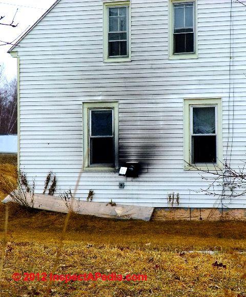 Exterior House Furnace Heater Wood Burning