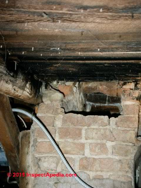 Chimney Repair Fireplace Repair Chimneys Fireplaces  Flues Chimney Safety Inspection