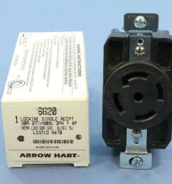 arrow hart 30 a locking receptacle at inspectapedia com [ 1056 x 1050 Pixel ]