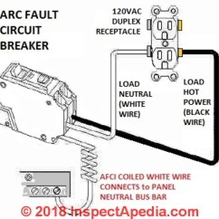 Arc Fault Circuit Breaker Wiring Diagram 2006 Gmc Yukon Stereo Afci Guide To Interrupters For Home Owners And Hookup