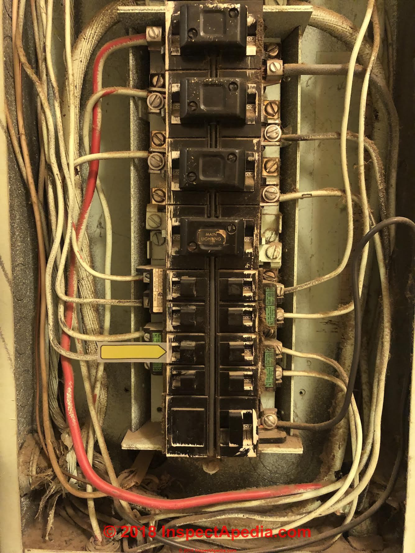 hight resolution of bulldog pushmatic circuit breakers which are the main switches c inspectapedia