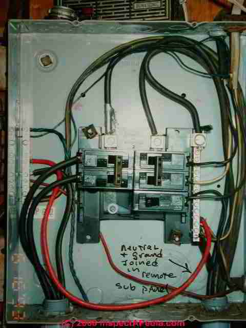 Neutral Connection In A Sub Panel Led To A Dangerous Electrical Shock