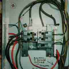 Electrical Panel Hazards Honeywell Chronotherm Iii Wiring Diagram Interior Inspection For Home Improperly Wired Garage Sub Led To Shock C Daniel Friedman