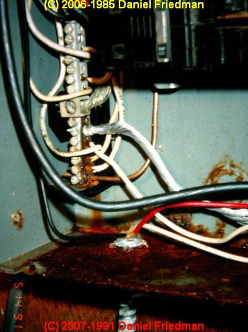 100 Amp Panel Wiring Diagram Rust And Corrosion In Electrical Panels A Study And