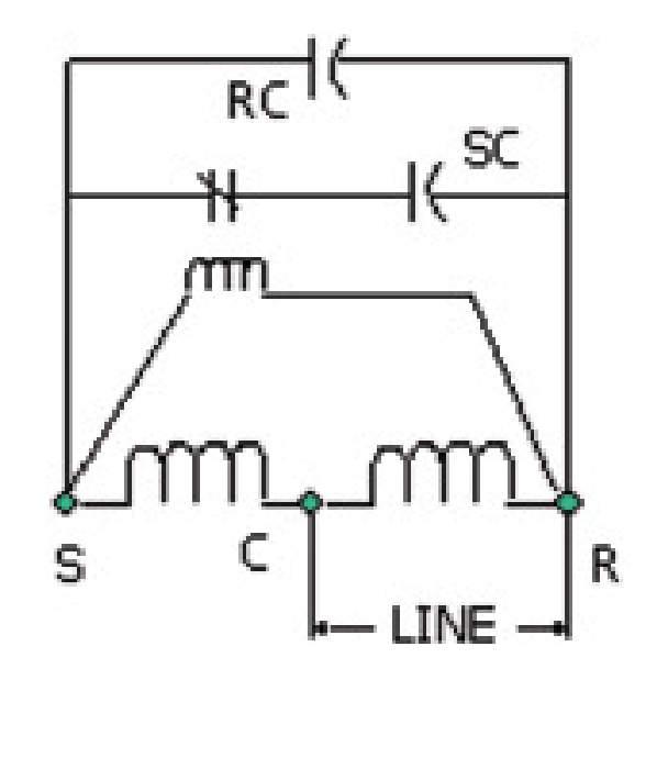 psc compressor wiring diagram