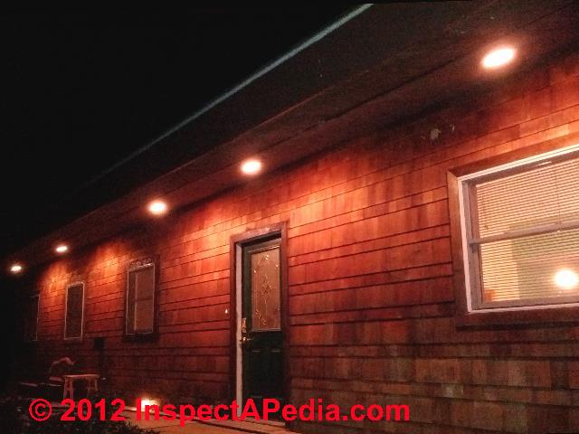 spacing layout for recessed lights