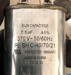 run capacitor rated at 7 5 microfarads c inspectapedia com robert [ 801 x 1136 Pixel ]