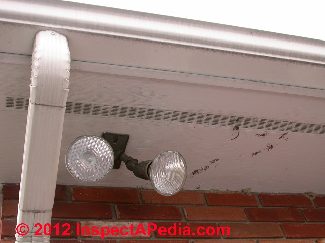 how to install roof soffit recessed lights