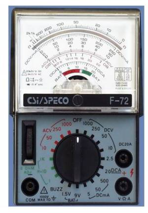 VOMS: Analog VoltOhm Meters: how to choose & Use a VOM to Detect or Measure Electrical Voltage