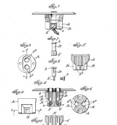 thomas electrical plug in receptacle patent 952 961 from 1910 at inspectapedia com [ 854 x 1298 Pixel ]