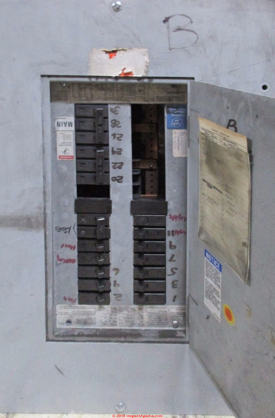 Westinghouse Electrical Panel