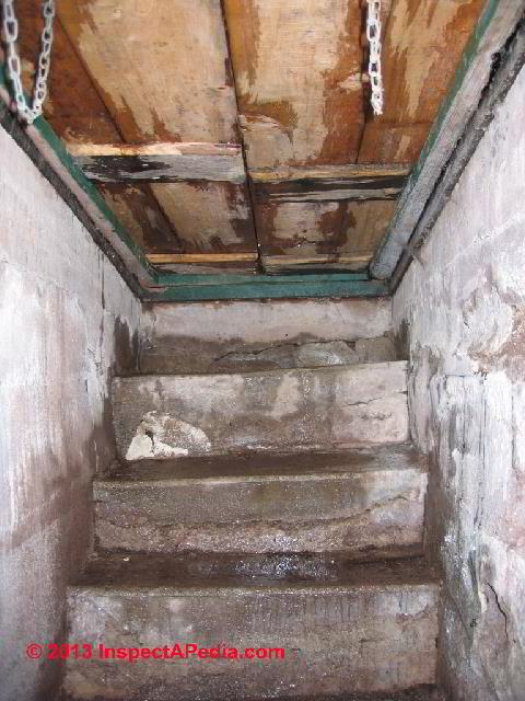 Basement Walk Out Covers Accessways Basement Exit Stair Covers   Exterior Basement Entrance Stairs   Garage   Victorian Era   Stone Wall   Access   Finished