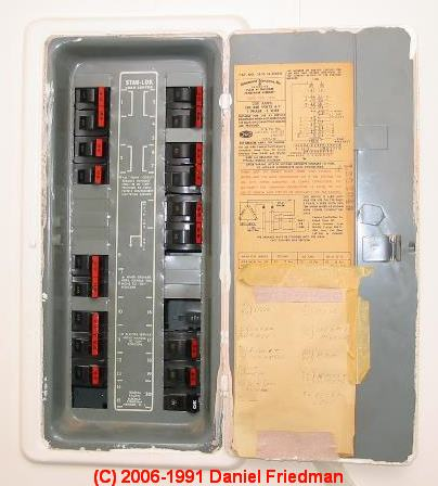 electrical panel hazards house wiring circuit diagram the federal pacific electric fpe stab lok breaker service identification