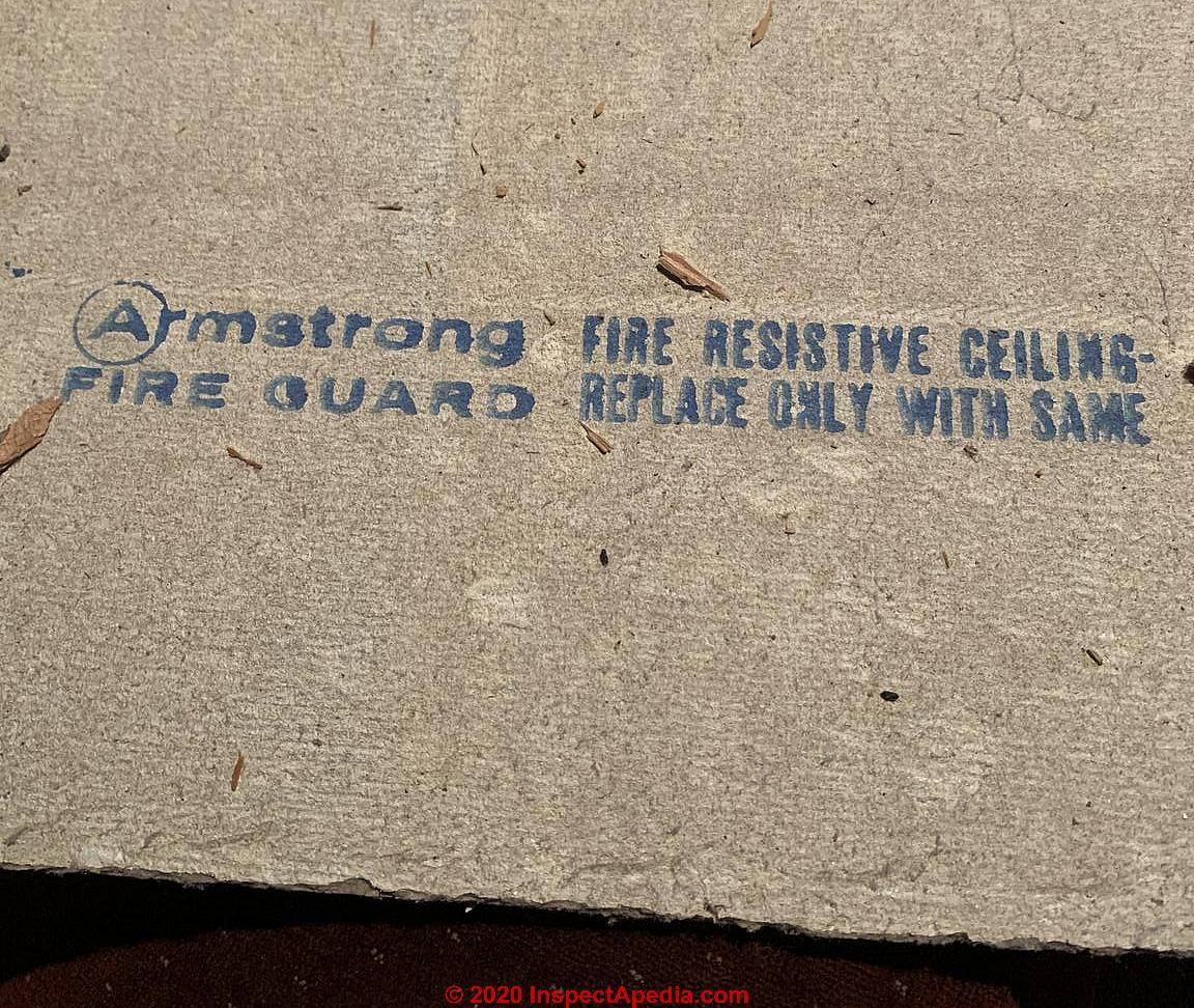 asbestos in armstrong ceiling tiles