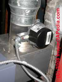 Automatic Vent Dampers Oil Fired Heating Equipment