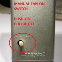 Furnace Blower Humming When Off 2005 Ford Escape Engine Diagram Fan Limit Switch Diagnostic Faqs Combination Control Honeywell L4064b With Cover On