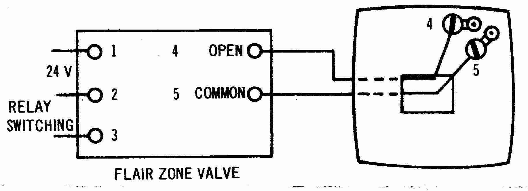 flair 2wire thermosat wiring diagram