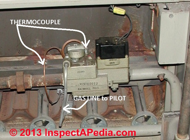 typical rv wiring diagram 1955 chevy gas flame thermocouple sensors troubleshooting & replacement