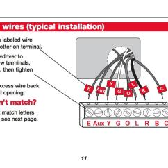 Wiring Diagram For A Honeywell Thermostat Human Skull Without Labels How Wire Room Rth3100c Summary See The Installation Manual Details Or Call