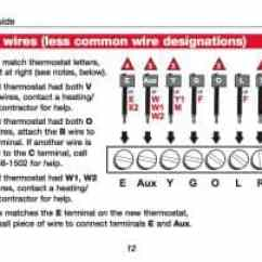 Honeywell Thermostat Wiring Diagram Rth6350 Of A Three Way Switch How Wire Room Connection Tables Hook-up ...