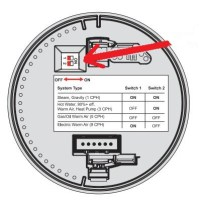 How to Set the Thermostat Cycle Rate Switches or Fan ...