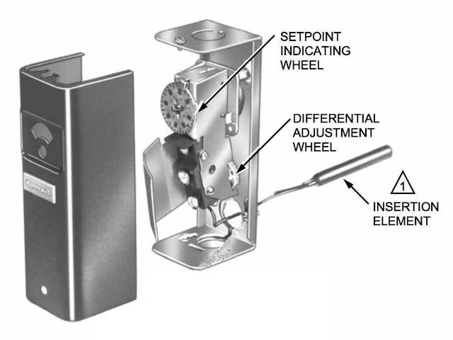 honeywell boiler aquastat wiring diagram 1998 pontiac sunfire radio aquastats: setting & heating system controls, how to set the hi limit lo ...
