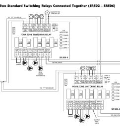 how to wire multiple taco sr502 sr506 switching relays [ 1580 x 1250 Pixel ]
