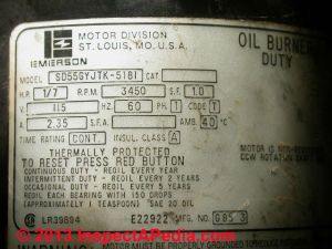 Electric Motor Lubrication Schedule, How often to lubricate electric motors & what type of oil