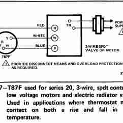 Thermistor Relay Wiring Diagram 4 Pin Flat Trailer Room Thermostat Diagrams For Hvac Systems