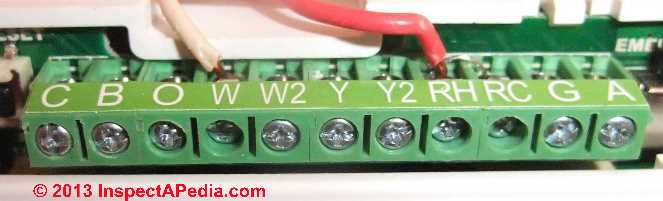 honeywell thermostat wiring diagram for heat pump single coil humbucker how wire a 3m filtrete thermostat, 3m-22 connection tables