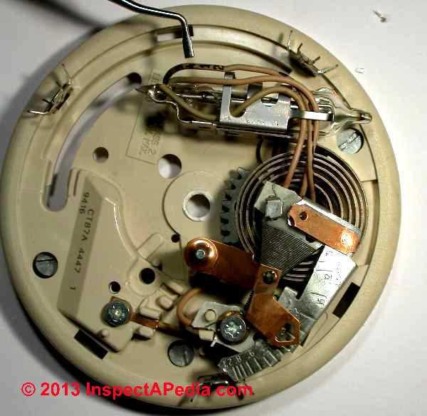 honeywell thermostat wiring diagram rth3100c emg guitar pickups old round ct87n ...