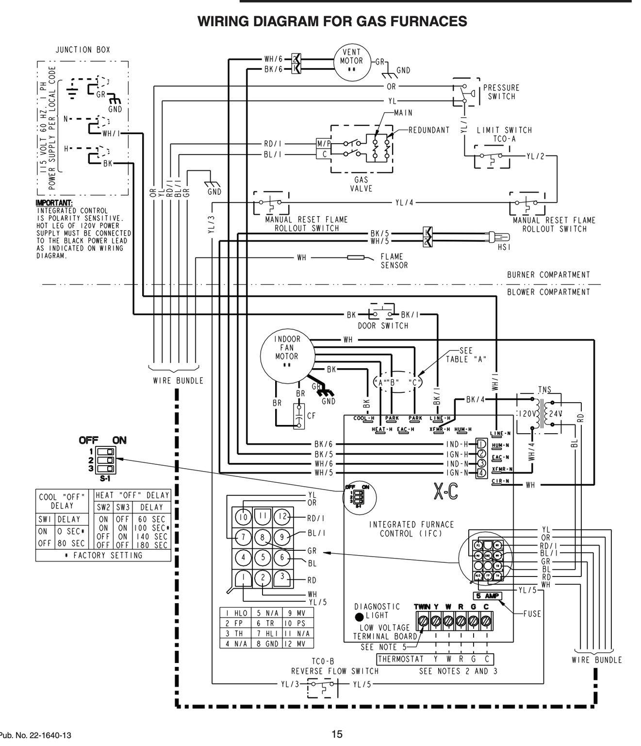 boiler flow switch wiring diagram