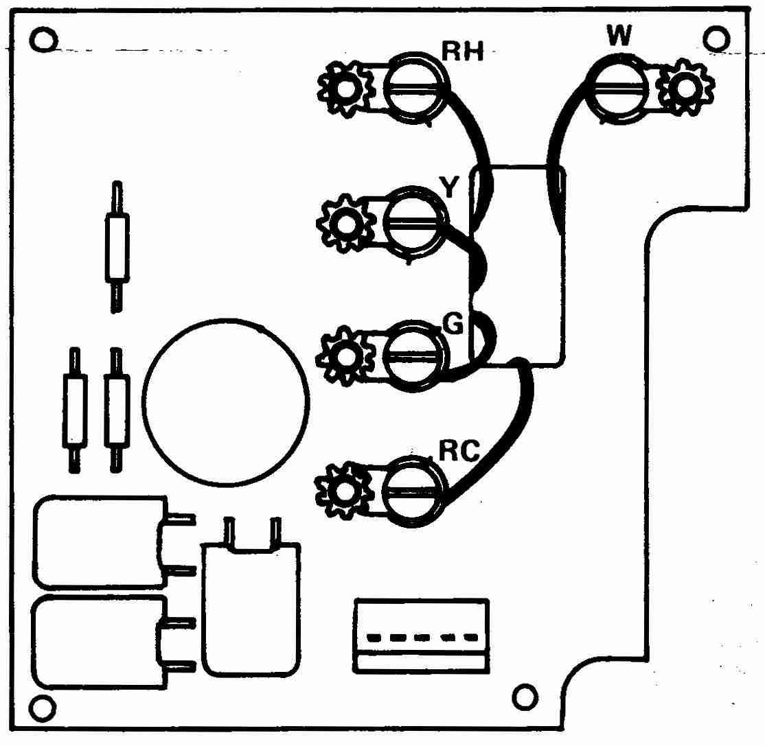 Wiring Diagram Database: White Rogers Thermostat Wiring