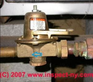 Heating System Boiler Check Valves, Flow Control Valves