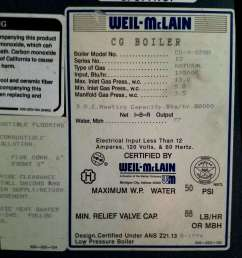 data tag from a weil mclain gas boiler in two harbors mn c daniel [ 1489 x 1848 Pixel ]