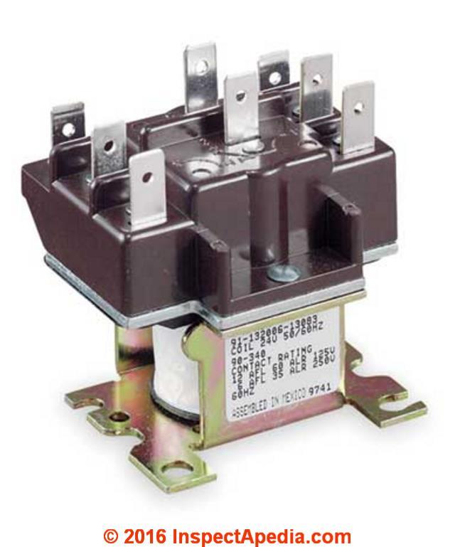 Honeywell Fan Limit Switch Wiring Diagram On 24 Volt Blower Fan Relay