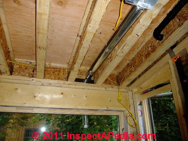 bathroom ventilation fan duct lengths