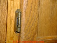 Kitchen & Bathroom Cabinet Door Hinges