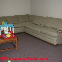 Living Room Dark Brown Couch Tv Stand Set Salvage Building Contents: How To Sort & Clean Moldy Or ...