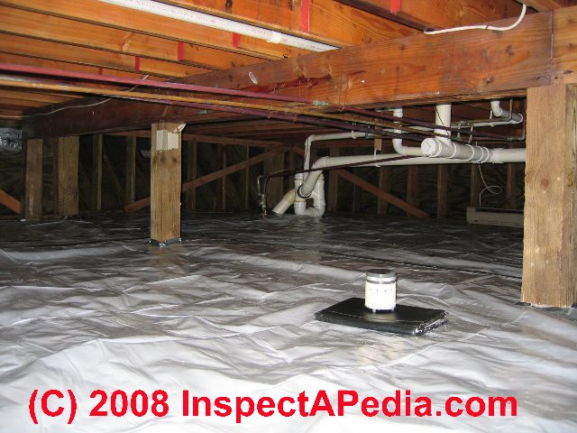 How to dry out a wet or damp crawl space  Crawl Space
