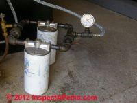 Oil Line Vacuum Gauge: Heating Oil Piping Vacuum ...
