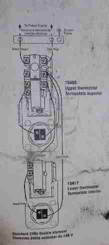 hot water tank wiring diagram volkswagen golf mk4 rheem electric heater heating element replacement procedure how towiring for american